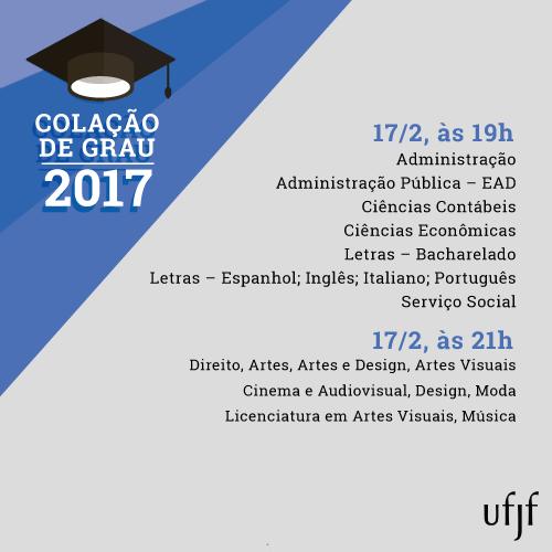 Colacão de grau 2017_dia 17