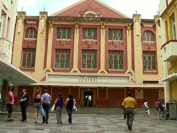 fachada Cine-Theatro Central