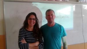 Economia nas Escolas - Fernanda e Altamir