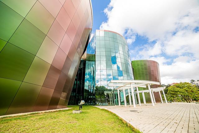 Centro de Ciências da UFJF é um dos maiores complexos de divulgação científica do país (Foto: Ciro Cavalcanti)
