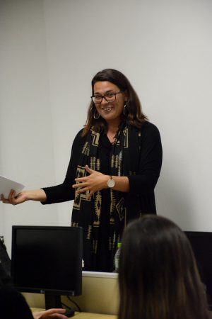Arayael Eloha da George Washington University (EUA) elogiou o programa Global July (Foto: Fayne Ferrari)
