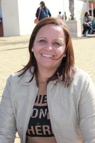 Daniela Cesário viajou a Juiz de Fora para participar do processo seletivo (Foto: Divulgação/Cead)