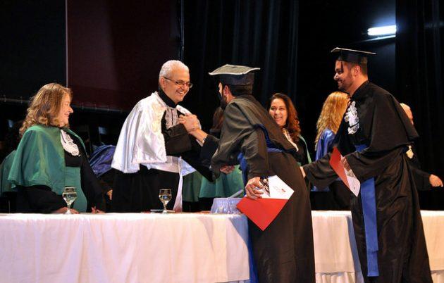 Marcus David afirma que o ato representa o dever cumprido da Universidade com a sociedade (Foto: Alexandre Dornelas)