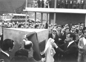Inauguração do Campus em 2 de junho de 1970 (Foto: Roberto Dornelas, acervos pessoais e Arquivo Central da Universidade)