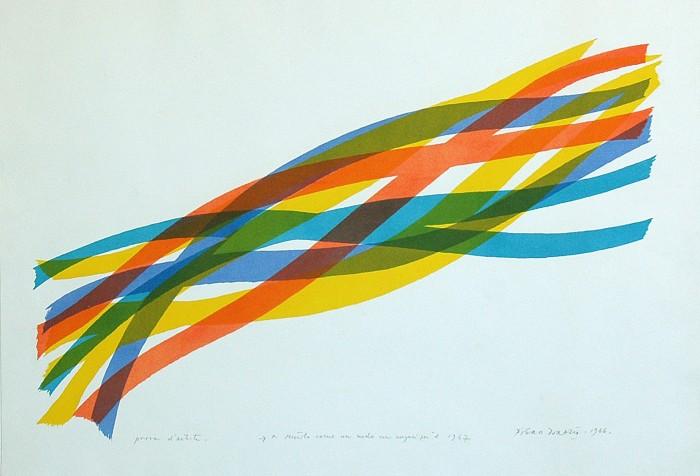 Piero Dorazio_ Sem Título_1966_Litografia