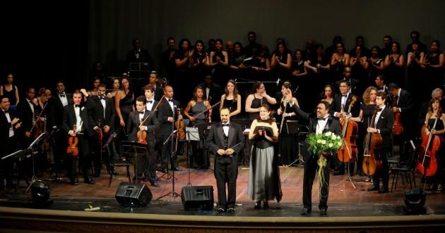 Orquestra Sinfônia Mário Vieira (Foto: Divulgação)