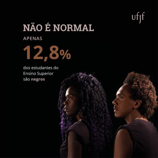 Campanha lembra o Dia Nacional da Consciência Negra, comemorado em 20 de novembro (Divulgação)