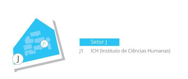 Setor J mapa