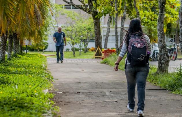 alunos campus (Foto: Géssica Leine)