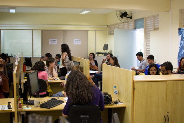 Central de Atendimento Foto Gustavo Tempone