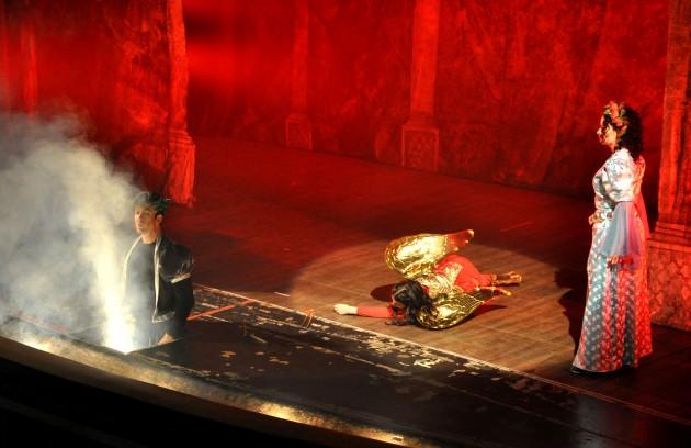 """Ingressos esgotaram para a apresentação da ópera """"Il Ballo delle Ingrate"""", que encerrou a última edição do festival colonial (Foto: Alexandre Dornelas)"""