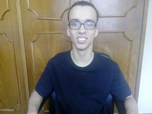 Ângello Antônio foi o único aprovado para Jornalismo no novo grupo de acesso a pessoas com deficiência (Foto: arquivo pessoal)