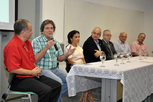 Ildeu de Castro Moreira foi uma das maiores inspirações para o Centro de Ciências da UFJF (Foto: Alexandre Dornelas)