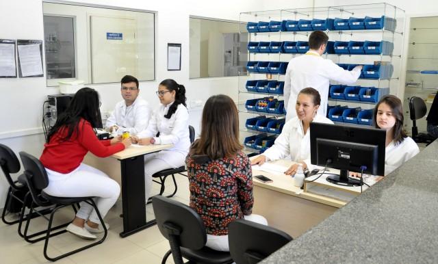 Farmácia Universitária (Foto: Alexandre Dornelas)