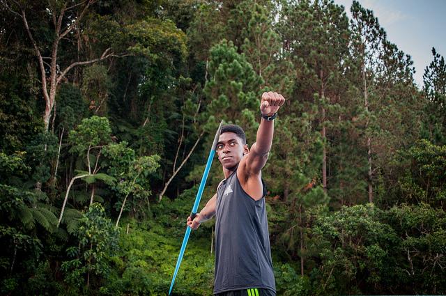 Luiz Maurício Dias bateu recordes de lançamento de dardo e tem chance de ir ao Mundial da Finlândia (Foto: Géssica Leine)