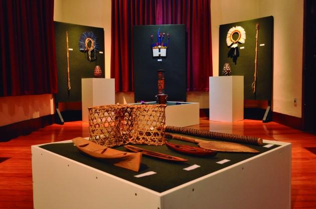 A exposição (Foto: Franciane Lúcia)