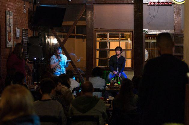 Festival internacional vai até quarta-feira, 16, com eventos simultâneos nos bares Arteria, Na Garganta e Brauhaus Zeppelin (Foto: Iago de Medeiros)