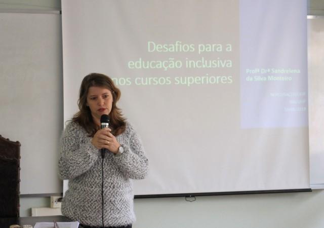 Sandrelena da Silva Monteiro - prof. Faced (Foto: Alice Coelho)