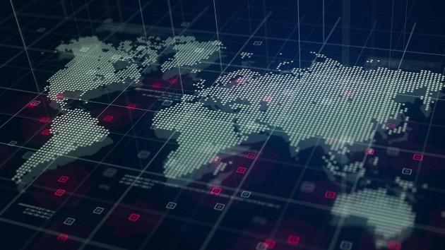 Design por natanaelginting  - mapa mundo digital