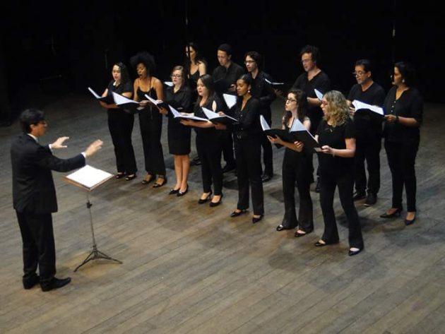 Coro Acadêmico da UFJF - IAD - Foto Divulgação