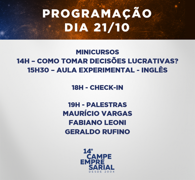 (Fonte: Divulgação / Campe Consultoria Jr.)