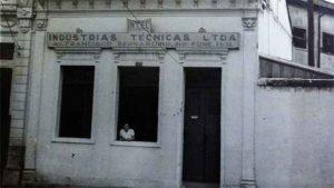 Fachada do imóvel que seria a sede da fábrica que empregaria judeus em Juiz de Fora (Foto: Acervo Hermann Mathias Görgen und Dora Schindel/ Biblioteca Nacional Alemã)