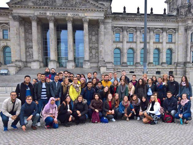 A Universidade de Passau organizou uma viagem com os intercambistas para Berlim (Foto: Warley Almeida)
