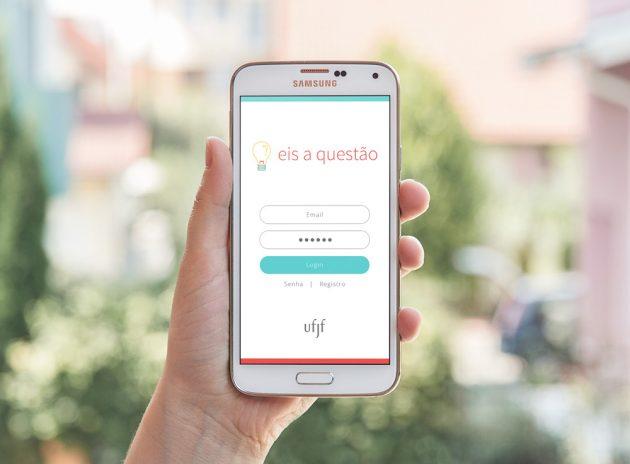 Aplicativo, voltado para jovens do ensino médio, que será lançado na Semana Nacional de Ciência e Tecnologia (Foto: Divulgação)