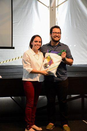 O estudante Allan Kardec Medeiros foi o grande vencedor do desafio (Foto: Fayne Ferrari/UFJF)