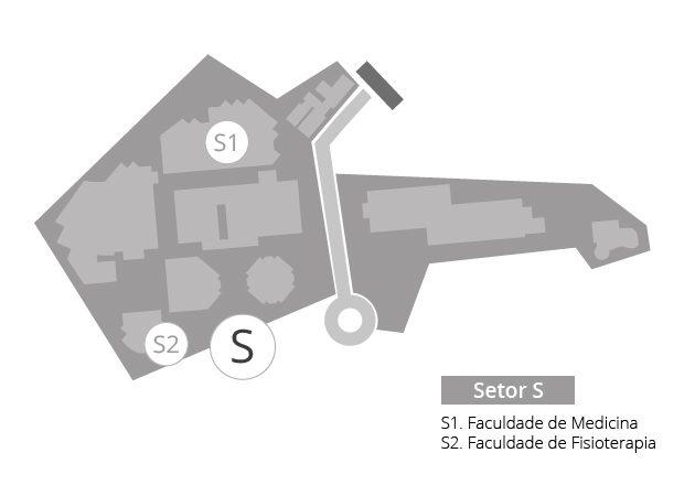 Setor S mapa