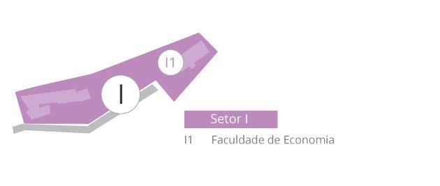setor I mapa
