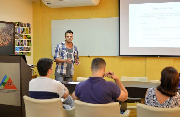 Breno Moreira defendeu a tese no último dia 14 de dezembro na UFJF (foto: Twin Alvarenga/UFJF)