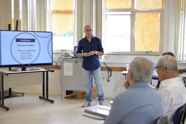 Acadêmico utilizou Análise de Discurso para investigar discursividades de líderes religiosos (Foto: Twin Alvarenga)