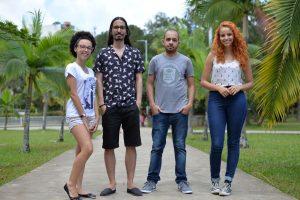 Luiza, Vinícius, Luís Henrique e Keydmann embarcam ainda este ano (Foto: Twin Alvarenga)