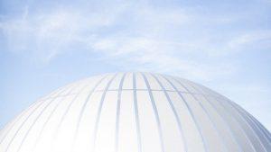 Cúpula do Planetário é a maior do estado de Minas Gerais (Foto: Ciro Cavalcanti)