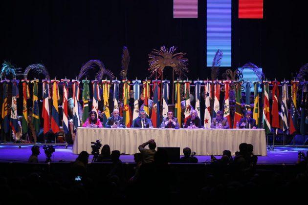 Abertura oficial da Conferência Regional de Educação Superior da América Latina e do Caribe (Cres) 2018 (Foto: Universidad Nacional de Córdoba)