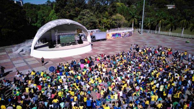 jogo brasil ufjf copa praca civica