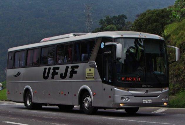 Viagens com alunos com transporte da UFJF poderão ser solicitadas via edital (Foto: Rafael da Silva Xarão)