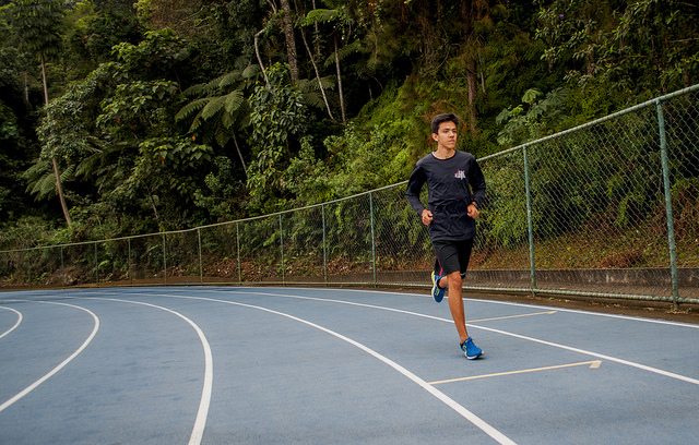 Francisco Perrout marcou o melhor tempo dos últimos oito anos (Foto: Géssica Leine)
