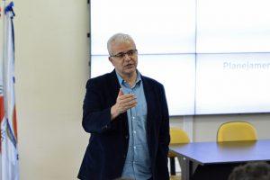 Marcus David apresentou planejamento estratégico para os próximos dois anos (Foto: Alice Coêlho)