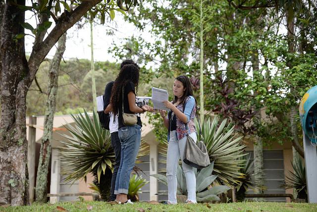 Mais de 34 mil candidatos foram esperados para as provas (Foto: Twin Alvarenga/UFJF)