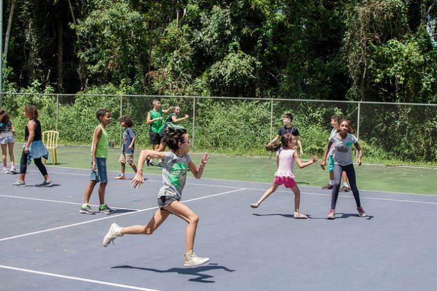 Iniciativa da empresa júnior da Educação Física teve início nesta segunda (Foto: Gustavo Tempone/UFJF)