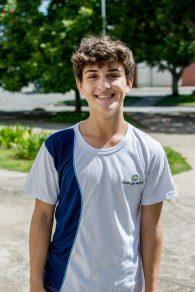 João Pedro ficou impressionado com a dimensão do campus (Foto: Gustavo Tempone/UFJF)