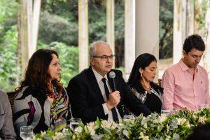 Inauguração mostra o comprometimento da UFJF em se inserir na cidade, afirma reitor (Foto: Gustavo Tempone/UFJF)