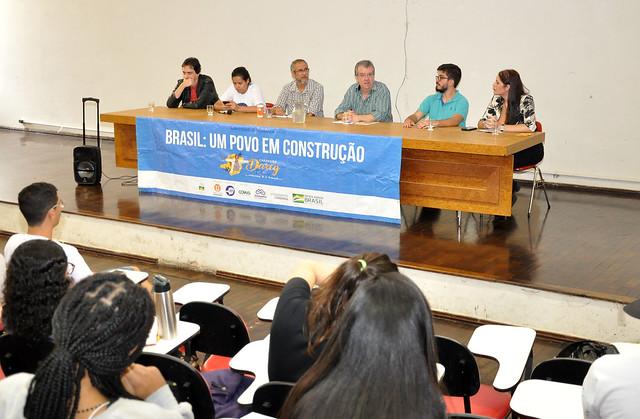 Encontro na UFJF debateu cultura como instrumento democrático (Foto: Alexandre Dornelas/UFJF)