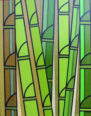 Obras de Sebastião Rocha Reis, o Pury, usam técnicas cubistas (Imagem: Pury)