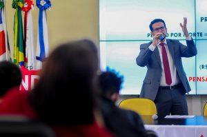 Atividade foi organizada em parceria por entidades representativas da UFJF (Foto: Rodrigo Milanni/UFJF)