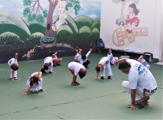 roda capoeira art-vida
