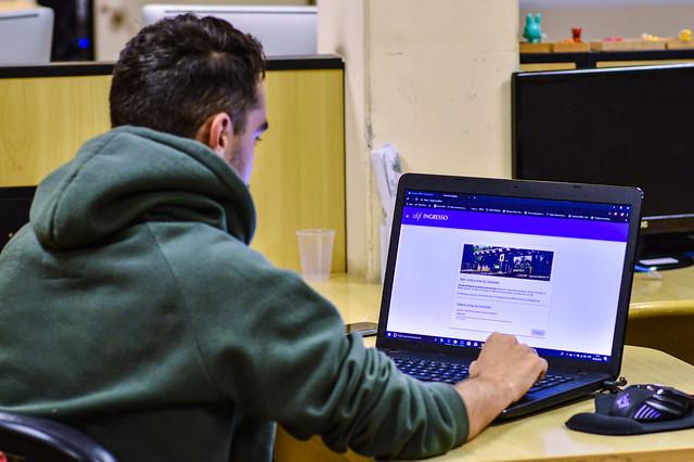 Ambiente virtual facilita inscrição nas provas do Pism e Vestibular de Música (Foto: Gabriela Maciel/UFJF)
