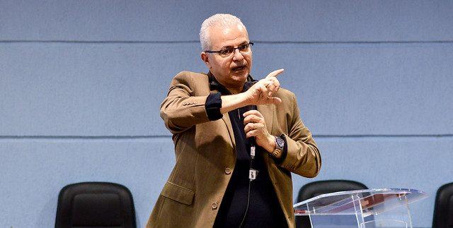 Reitor aborda investimento na educação, crise orçamentária e programa Future-se (Foto: Rodrigo Milani/UFJF)